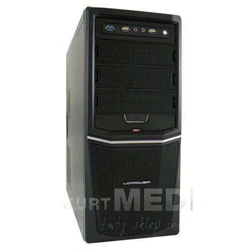 OBUDOWA LC-POWER CASE-PRO-924B/420H-12 Z ZASILACZEM LC420H-12 420W FRONT 1X USB 3.0 2X USB 2.0 HD-AUDIO CZARNA SIATKA, CASE-PRO-924B/420H-12 1.3
