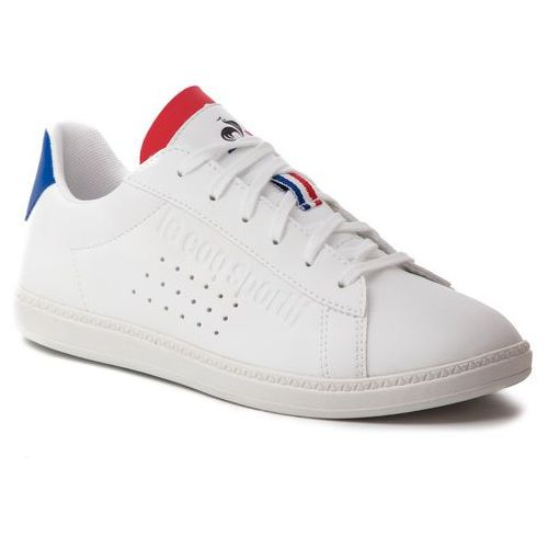 Sneakersy LE COQ SPORTIF - Courtset Gs Sport 1910310 Optical White/Cobalt, kolor biały