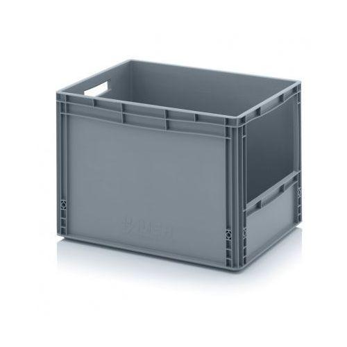 Skrzynki plastikowe z otworem 600x400x420 mm marki Auer
