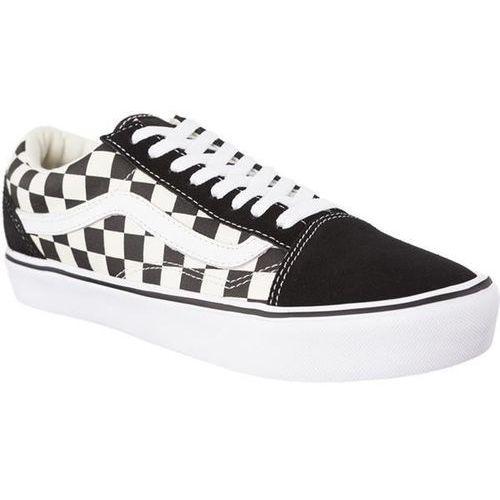 Vans old skool lite 5gx checkerboard black white - buty sneakersy