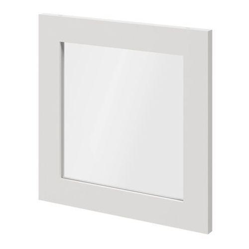 Drzwi do korpusu 37,5 x 37,5 cm GoodHome Atomia biały/szkło transparentne (5036581053635)