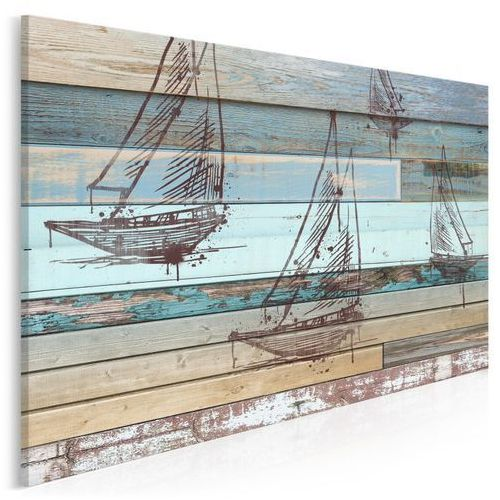 Wiatr w żagle - nowoczesny obraz na płótnie - 120x80 cm marki Vaku-dsgn