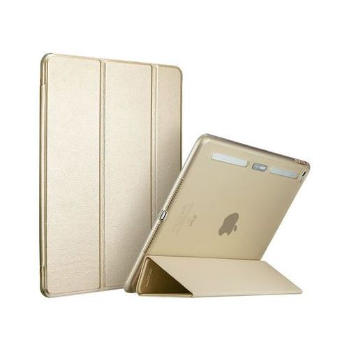Esr Etui smart case ipad air 2 yippee plus series złote +szkło - złoty