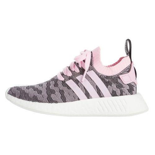 originals nmd_r2 primeknit sneakers czarny różowy 37 1/3 marki Adidas