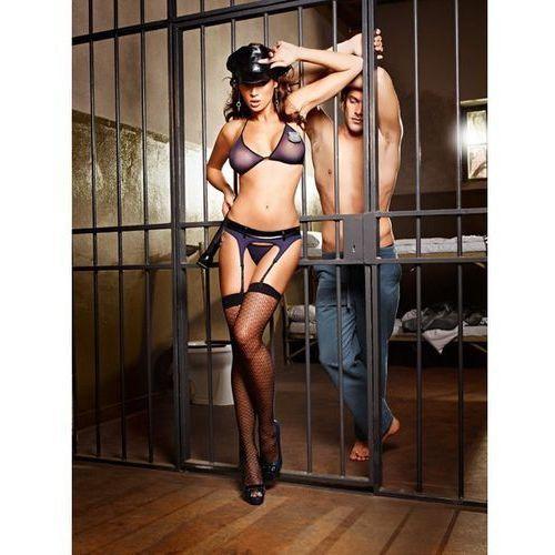 Przebranie policjantki - baci night patrol police officer set one size, Baci lingerie