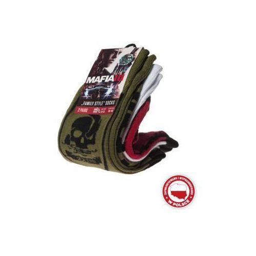 Skarpety GOOD LOOT Mafia III - Military & Logo Socks Pack, towar z kategorii: Gadżety