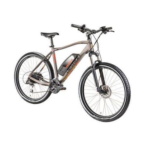 """Elektryczny rower górski riddle m1.7 27,5"""" - model 2018, neonowy, 19,5"""" marki Devron"""
