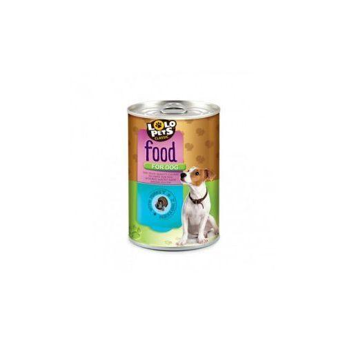 LOLO PETS Food For Dog Puszka,Indyk 410g- RÓB ZAKUPY I ZBIERAJ PUNKTY PAYBACK - DARMOWA WYSYŁKA OD 99 ZŁ (5904479480033)