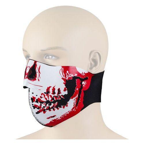 Uniwersalna maska na motor nf-7850, czerwony marki W-tec