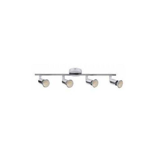 Plafon lampa oprawa sufitowa norton led 4x3w gu10 chrom 6988 marki Rabalux