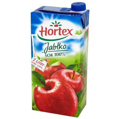 HORTEX 2l Jabłko Sok 100% | DARMOWA DOSTAWA OD 150 ZŁ!, kup u jednego z partnerów