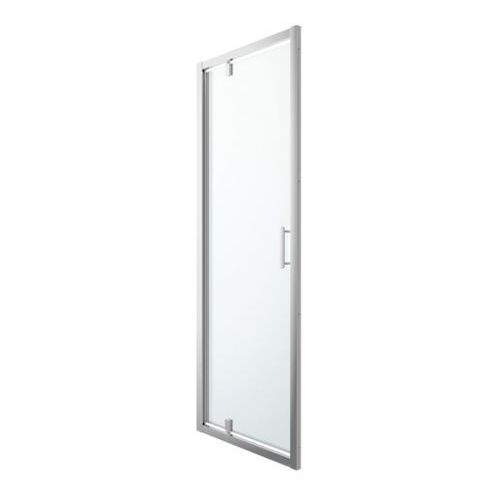 Goodhome Drzwi prysznicowe wahadłowe beloya 70 cm chrom/transparentne (3663602944805)