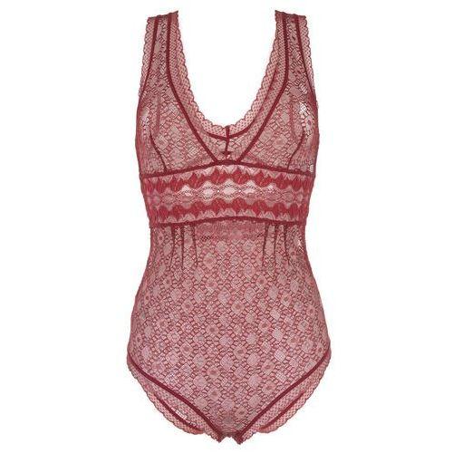 Stella McCartney Jasmine Inspiring Body Czerwony S, kolor czerwony