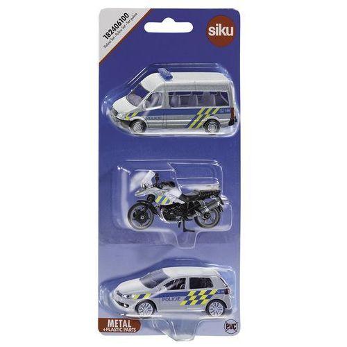 Siku Zestaw pojazdów policyjnych (4006874918249)
