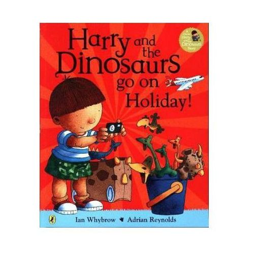 Harry and the Bucketful of Dinosaurs Go on Holiday (28 str.)