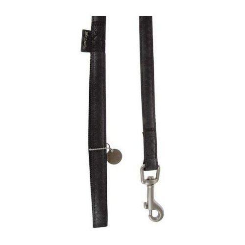 Zolux Smycz Mac Leather 10mm/1.2m Czarna [522010NO] (3484152201015)