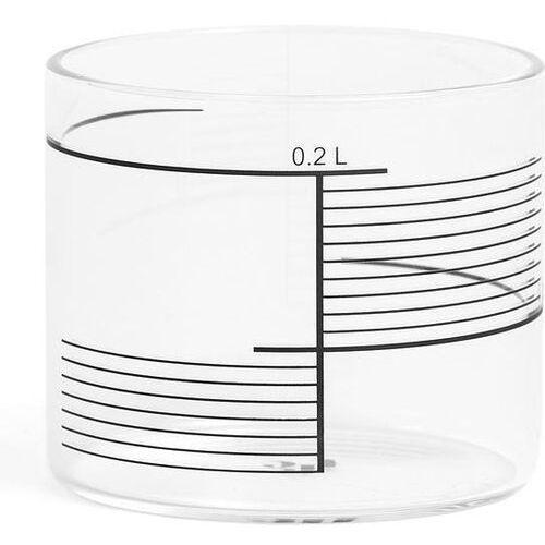 Szklanki 0,2 l w komplecie 4 szt. square stripes marki Tre