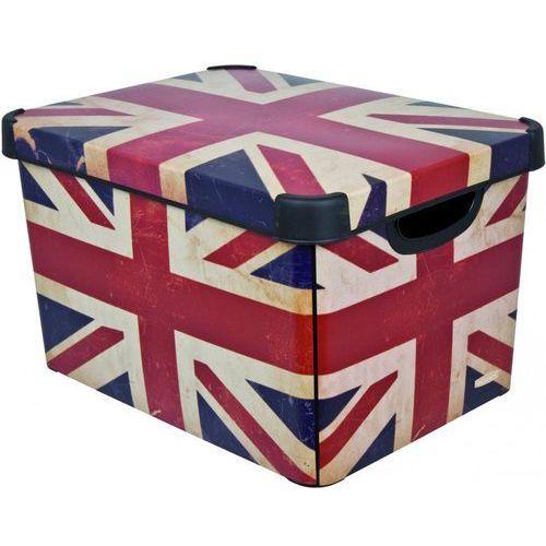 Curver pojemnik deco's stockholm l british flag 25 l