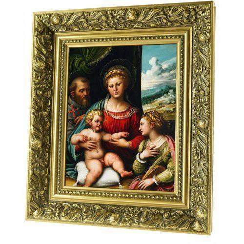 Produkt polski Obraz ceramiczny matka boża z dzieciątkiem