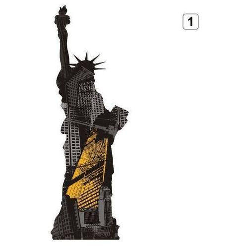 Naklejka wielokolorowa statua wolności 1303 marki Wally - piękno dekoracji