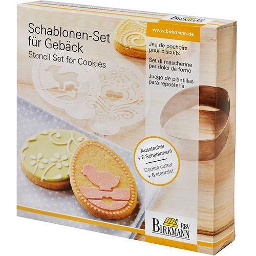 Birkmann Szablony do dekoracji ciasteczek wielkanoc zamów przez telefon 514 003 430