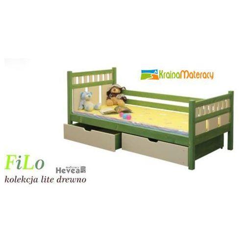 Łóżko filo 190x90 wyprodukowany przez Hevea