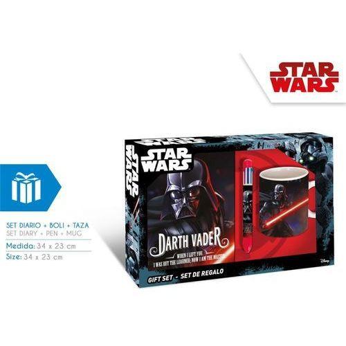 Zestaw prezentowy: pamiętnik, długopis i kubek Star Wars