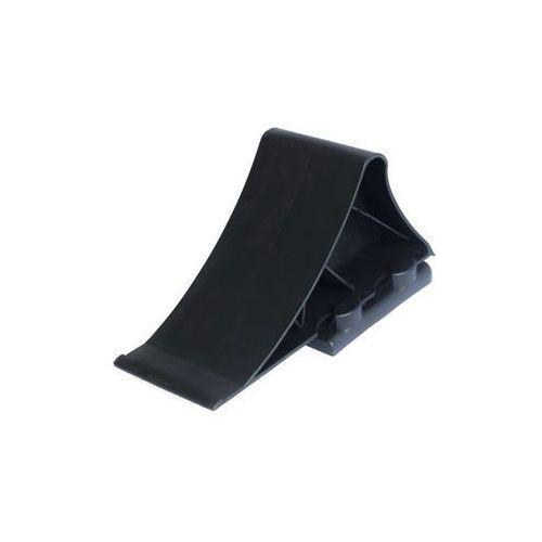 Klin pod koła przyczepy z uchwytem plastik mocny marki Unitrailer