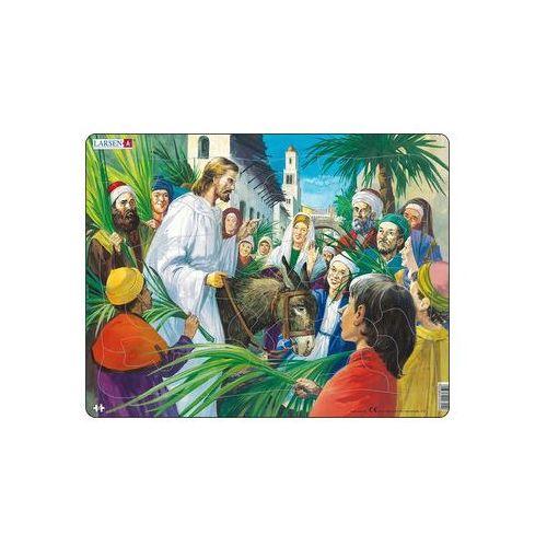 Neuveden Puzzle maxi - bible - ježíš - příchod do jeruzaléma/33 dílků