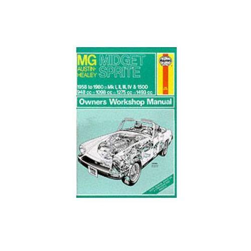 M. G. Midget and Austin Healey Sprite Owner's Workshop Manua (9780856965883)