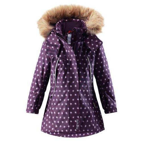 Reima Kurtka zimowa  reimatec® muhvi fioletowa z jaśniejszym wzorem