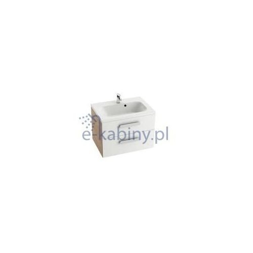 Ravak Szafka podumywalkowa SD Chrome II 800 biała/cappuccino X000000923, kolor biały