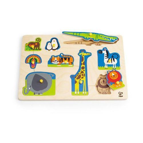 Puzzle dzikie zwierzęta marki Hape