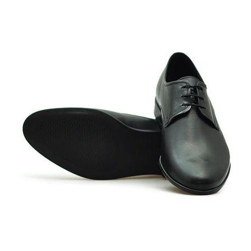 Pantofle c00c-6272-0228-00s01 czarne lico, Conhpol