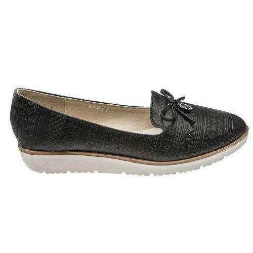 Buty damskie wsuwane mokasyny marki Vices