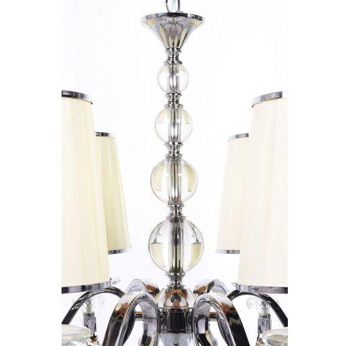 Lumina deco Żyrandol federrica w6 ldp 1158-6 (kr) - - sprawdź kupon rabatowy w koszyku