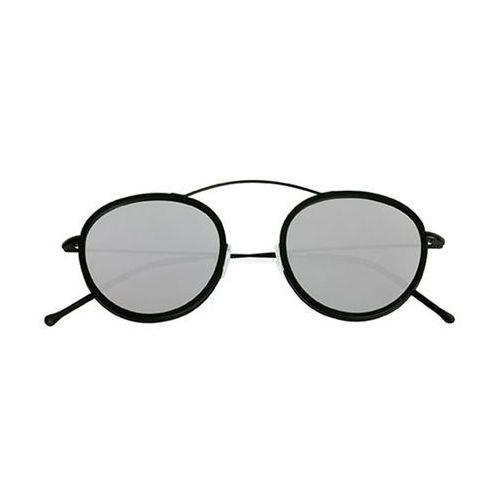 Okulary Słoneczne Spektre Metro 2 Flat MR01BFT/Black/Black (Silver Mirror)