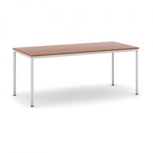 Stół do jadalni 1800 x 800 mm, blat czereśnia, nogi jasnoszare