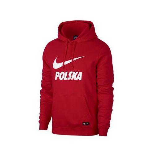 APOL54: Polska - bluza z kapturem Nike