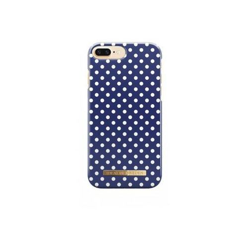 fashion case etui obudowa iphone 8 plus / 7 plus / 6s plus / 6 plus (blue polka dot) marki Ideal