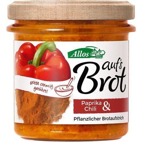 Pasta kremowa z papryką i chili bio 140 g - allos marki Allos (musy, miody, musli, batony, syropy z agawy