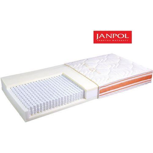 Materace janpol Janpol forte - materac multipocket, sprężynowy, rozmiar - 80x190, pokrowiec - jersey standard wyprzedaż, wysyłka gratis