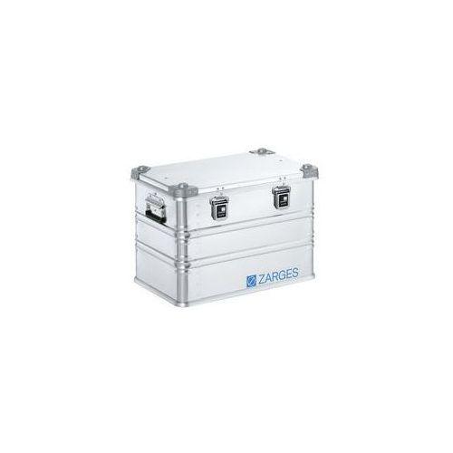 Zarges Aluminiowa skrzynka transportowa,poj. 73 l, dł. x szer. x wys. wewn. 550 x 350 x 380 mm