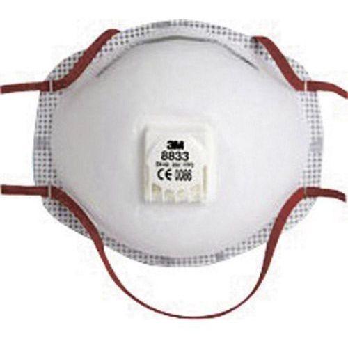 Mała maska przeciwpyłowa 3M 8833 Klasa filtrów / stopień ochrony: FFP 3 10 szt. z kategorii Pozostałe artykuły BHP