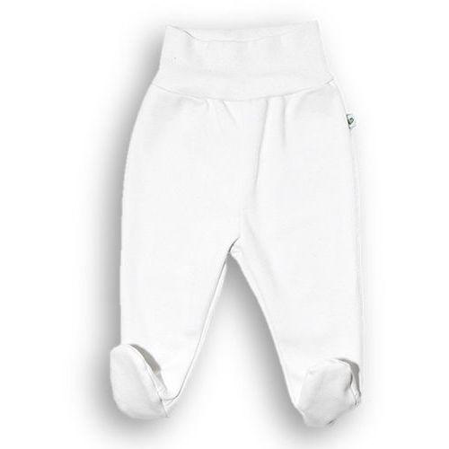 Półśpiochy NANAF ORGANIC, Basic, białe - Biały