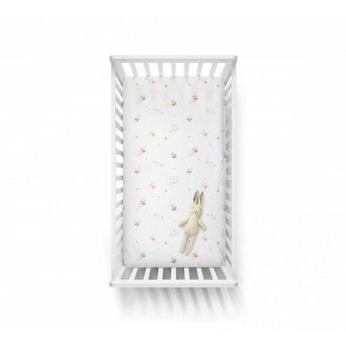 Baby Steps - Bawełniane prześcieradło - Blossom 2 60x120 cm, 38D3-6870E