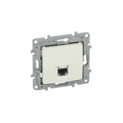 Legrand niloe gniazdo komputerowe pojedyncze 1xrj45 krem 764671 (3414970753786)
