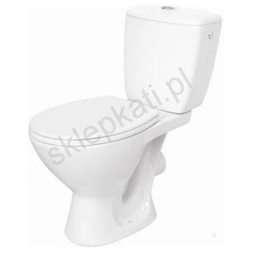 kaskada kompakt wc z odpływem pionowym, deska polipropylen k100-207 marki Cersanit