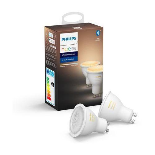 Philips hue 8718699629298 ambiance 5.5w gu10 eur 2pack hue bluetooth (8718699629298)