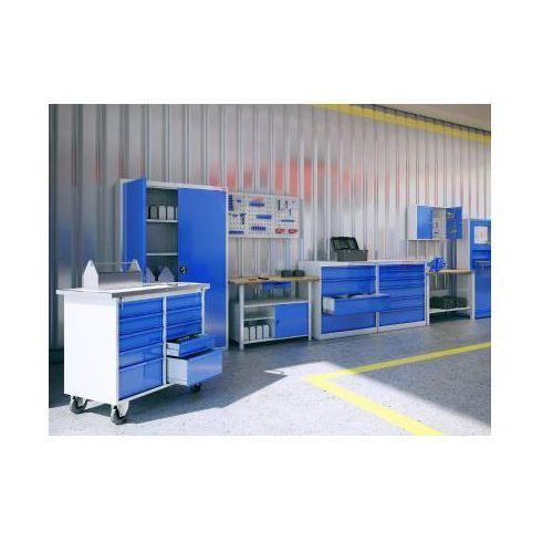Malow Metalowy stół warsztatowy roboczy stw111 600mm